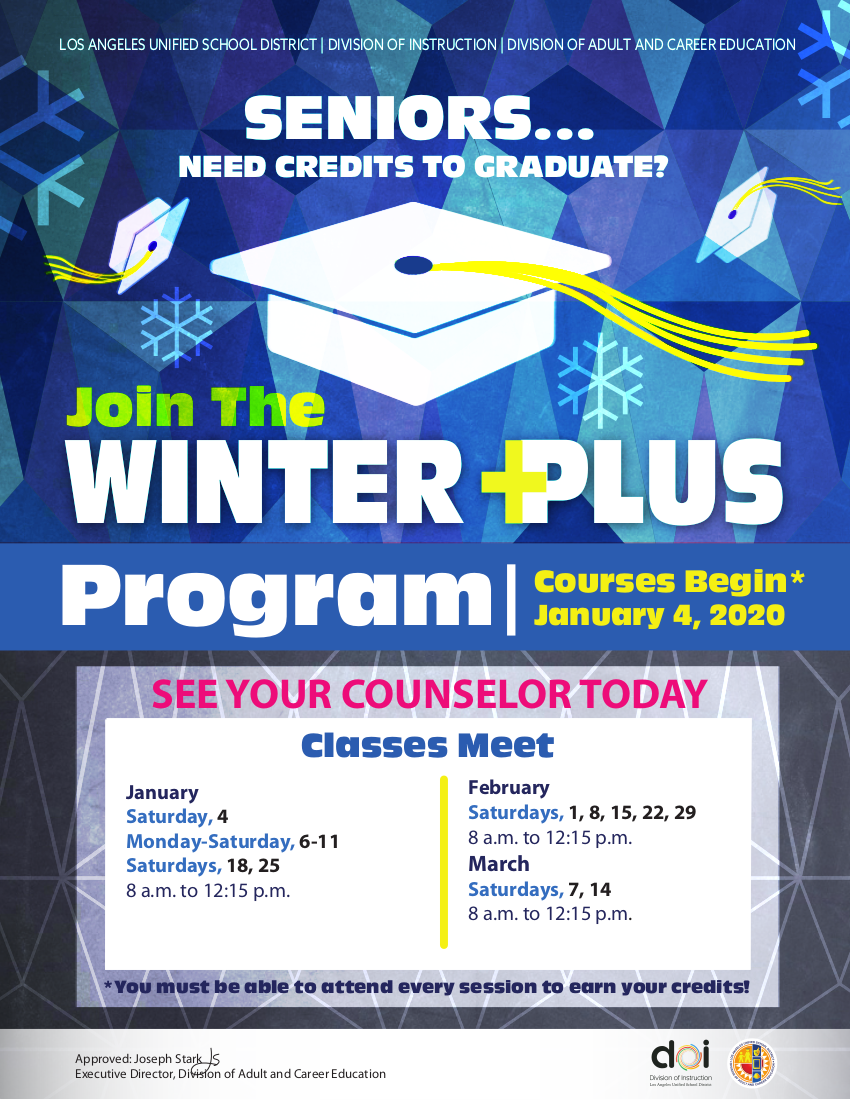Winter Plus Program